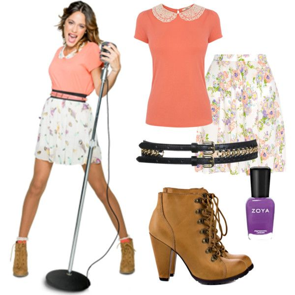 Violetta S Outfit Clothes School Outfits And Zendaya
