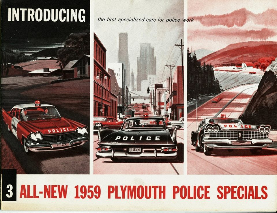 Plymouth Police Car Brochure  CarsProductionHot