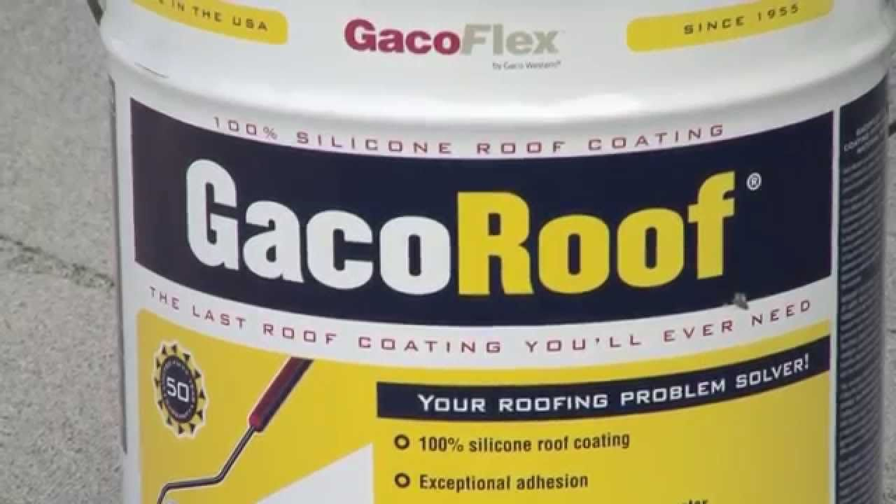Gacoroof System Application Instructions Roof Problems Instruction Roof Coating