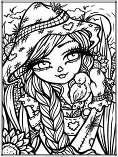 Image Result For Whimsy Girls By Hannah Lynn Coloring Pages