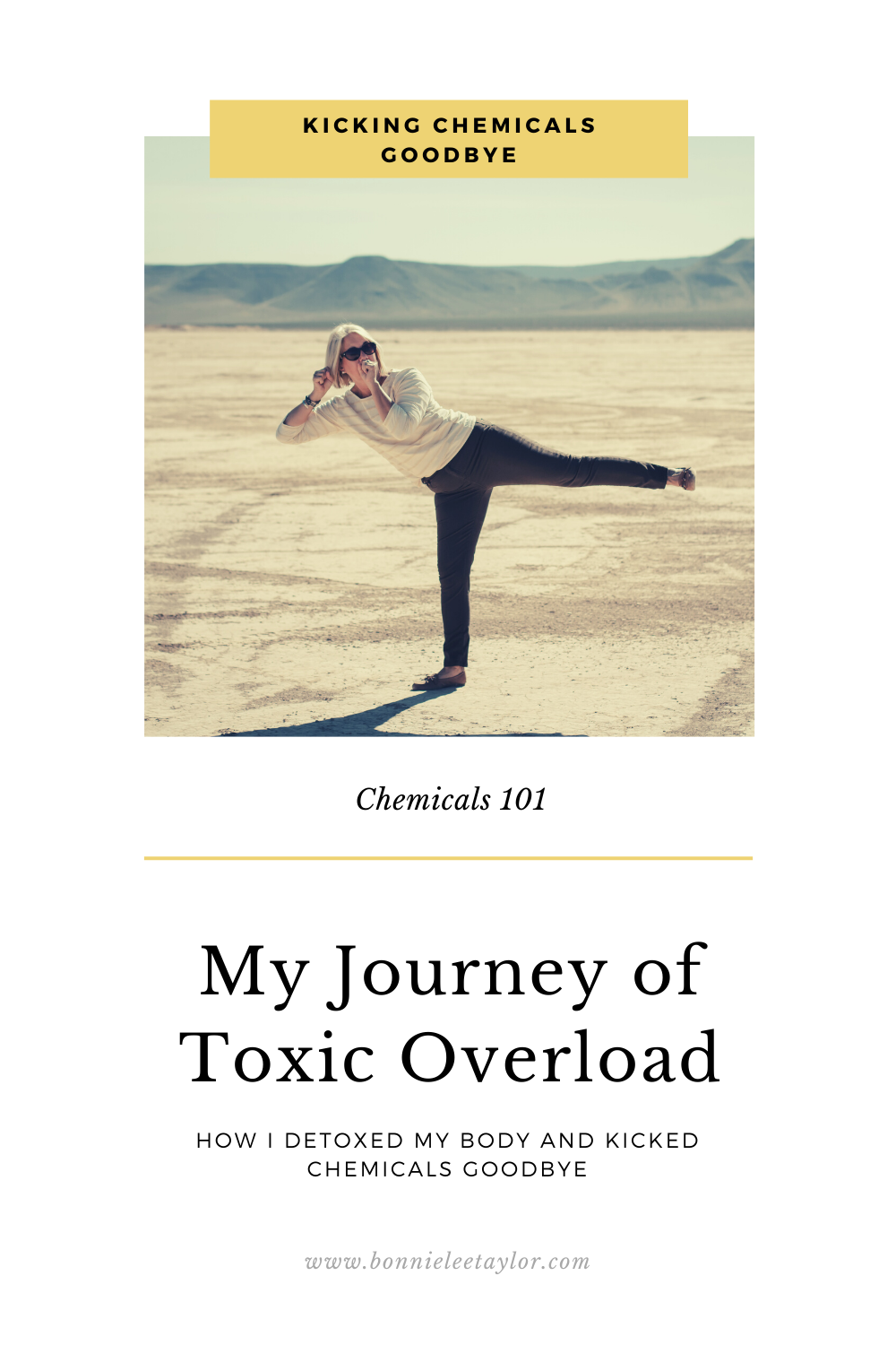 My body was in pain and I knew it was time to ditch the chemicals.  Here's my story, why and how I ditched the chemicals from my life.  #chemicalfree #toxinfree #over60 #essentialoils #toxinoverload