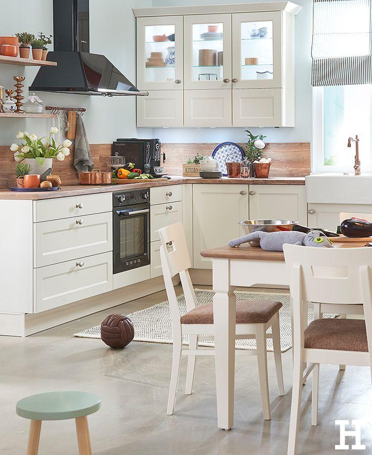 LandhausCharme in der Küche. meinhöffi Küchen ideen