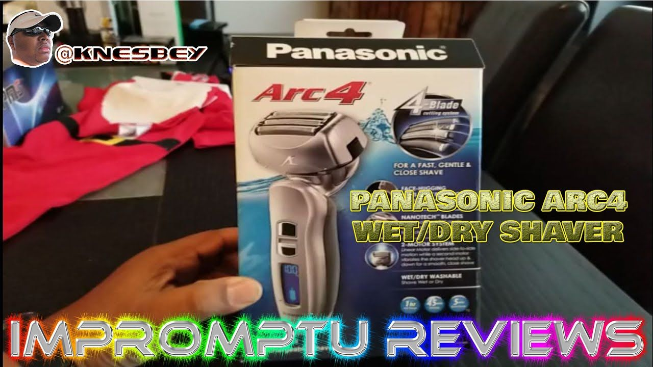 PANASONIC ARC 4 WET DRY SHAVER in 2020 Wet and dry