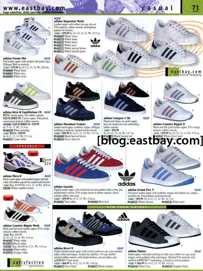 Eastbay Memory Lane: adidas Casual 1999 Adidas, Adidas  Adidas, Adidas