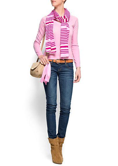 MANGO - PRENDAS - Jersey tricot