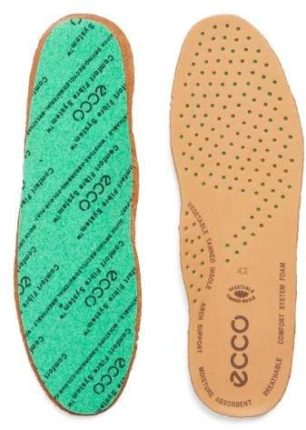 ECCO Comfort Fiber Leather Insole (Men