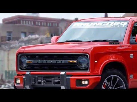 Ford Bronco Is Planning To Build One By 2020 Youtube Ford Bronco Bronco Ford Bronco For Sale
