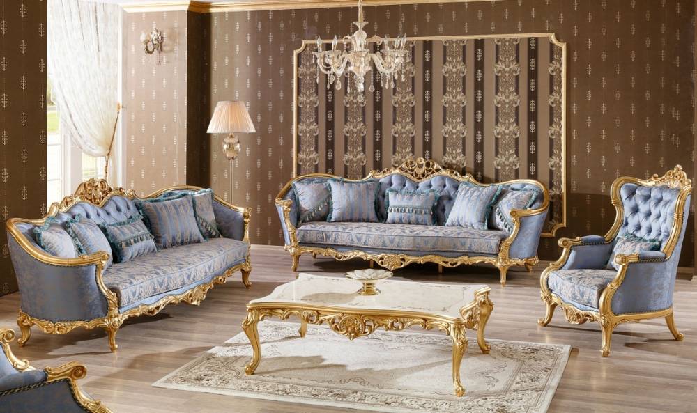 Best Wooden Royal Sofa Set Design For Living Room Sf 0031 Em 2021 Chaise Sofa