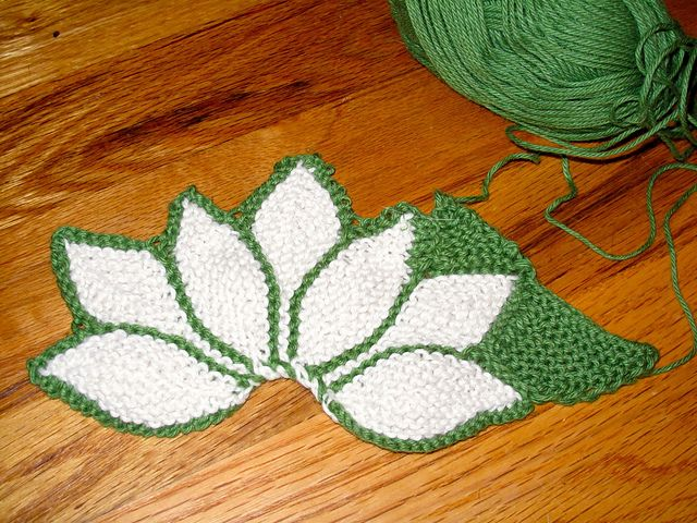 Hexagon Lotus Flower Pattern By Svetlana Gordon Knitting