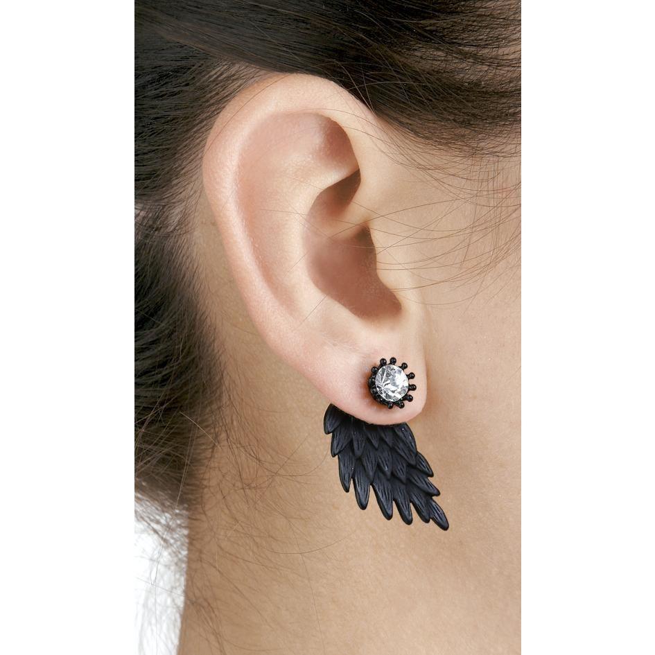 Wildkitten® Ohrstecker-Set »Black Wings«   Jetzt bei EMP kaufen   Mehr  Casual Wear Ohrstecker online verfügbar ✓ Unschlagbar günstig! 64c32046c2