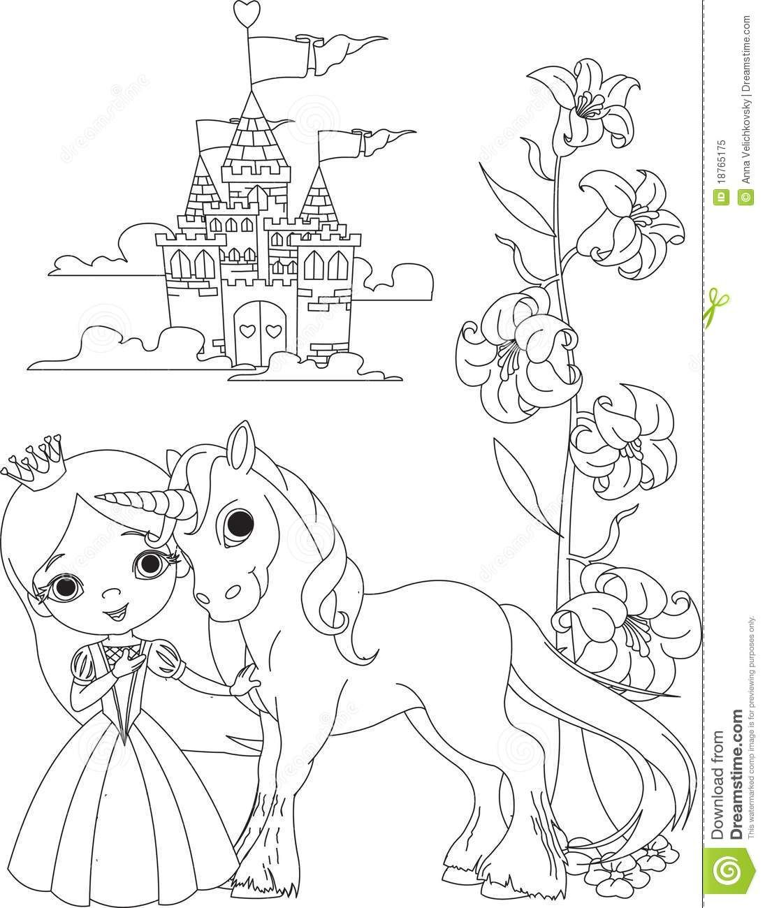 unicorn coloring pages   Google Search   Coloriage princesse ...