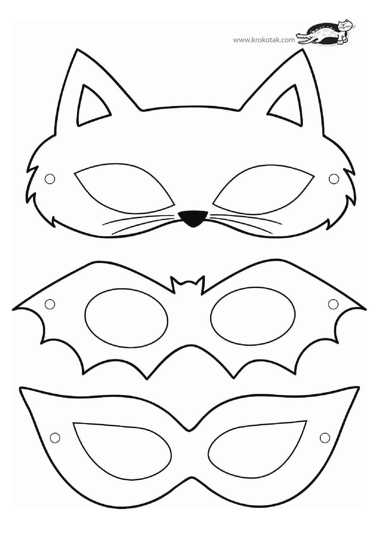 Malvorlagen F Kinder Masken Amorphi
