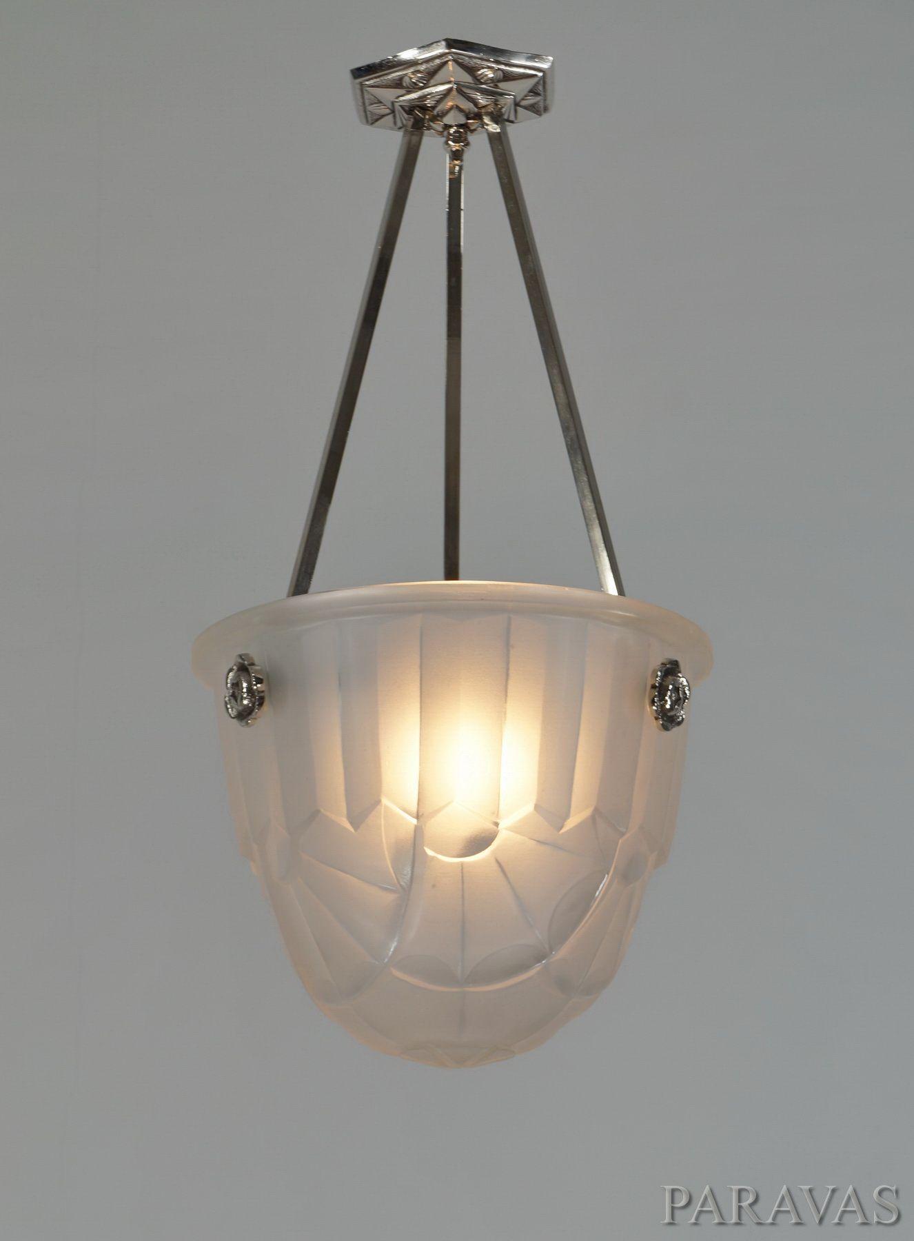 Francis hubens degu french 1930 art deco chandelier paravas francis hubens degu french 1930 art deco chandelier paravas ebay arubaitofo Choice Image