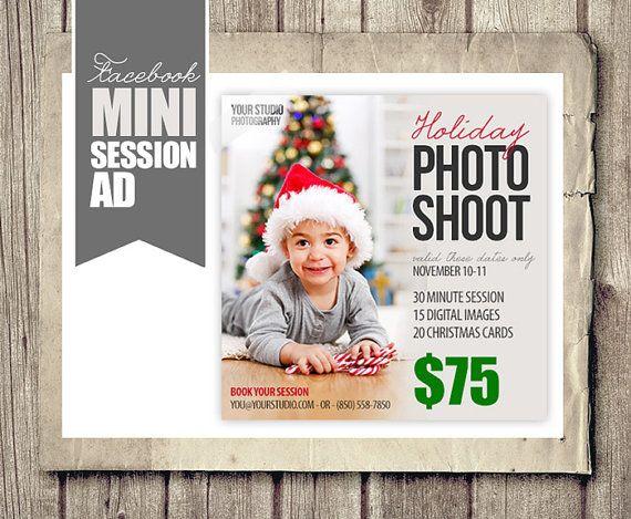 Holiday Christmas Facebook Ad Photographer by StudioTwentyNine ...