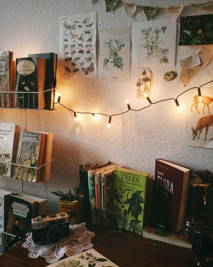 Photo of Lichterketten + Bücher // Shop 100% Bambus Eco-friendly Bedding & Apparel xx www.y – 2019 – Apartment Diy