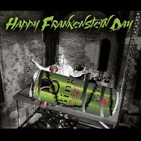 Happy Frankenstein Friday. Celebrate Halloween and Hallobing with Mary Shelley's most favorite and lovable guy... Frankenstein. Or as we like to call him... Crispenstein!