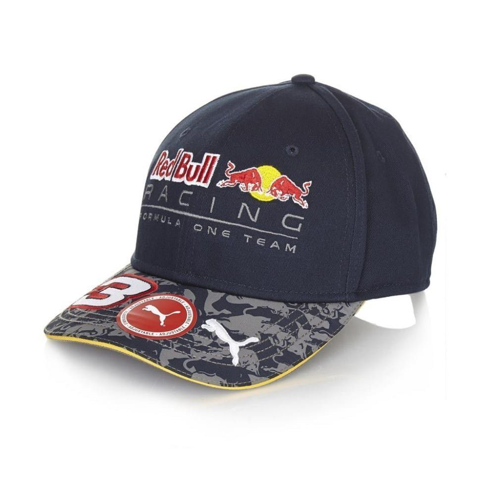 a3ef631a0ce Red Bull Racing  3 Formula 1 Daniel Ricciardo Puma Baseball Hat Adjustable