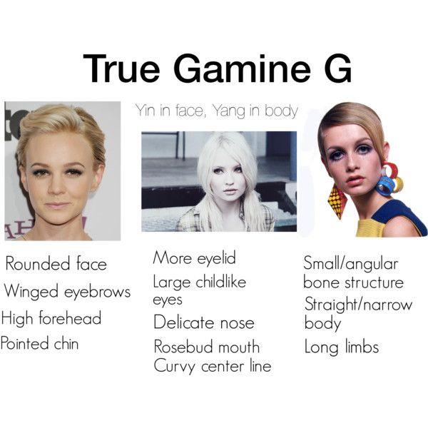 True Gamine G | soft gamine | Gamine style, High forehead