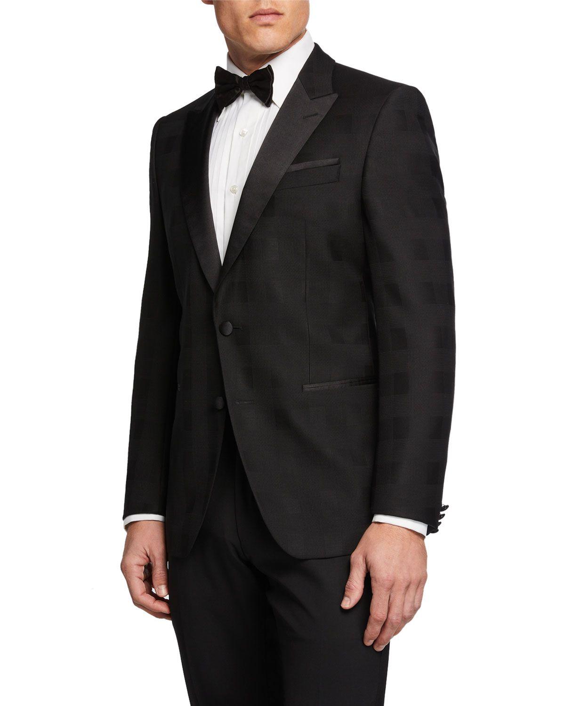 0f6baf819c7 Emporio Armani Designer Men s Diamond Tuxedo Jacket