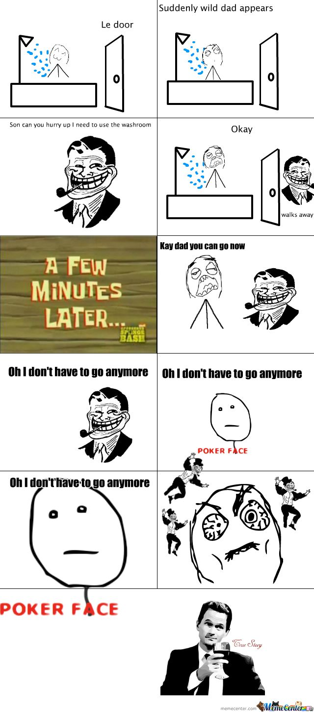 le papa | meme comics | Pinterest | Comic, Rage comics and ...