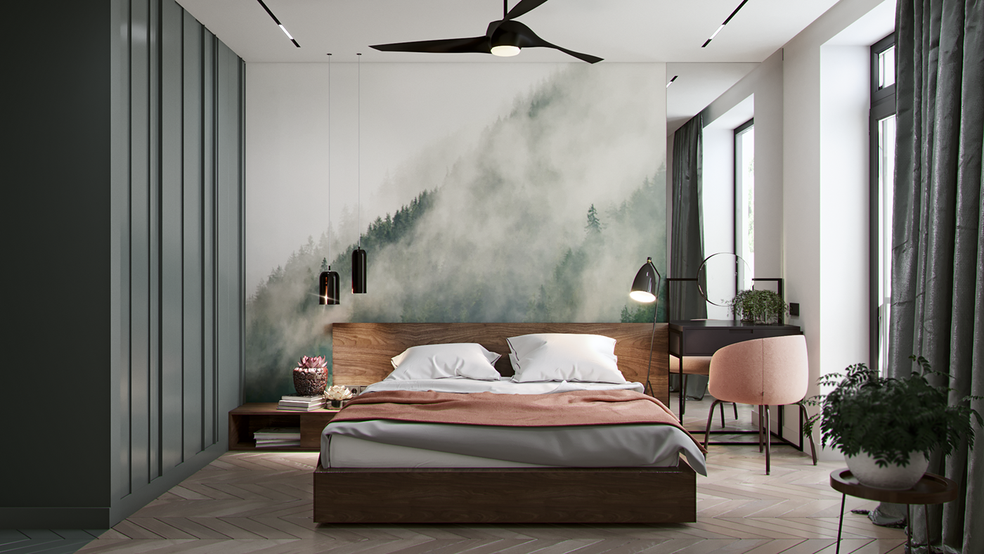 Room Pinky on Behance Bedroom
