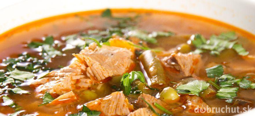 Pikantná hovädzia polievka