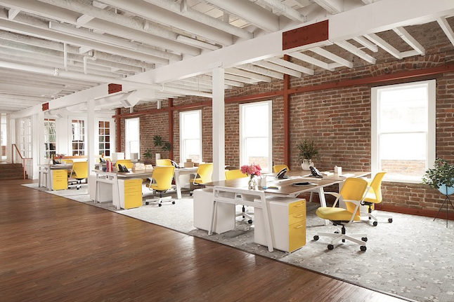 Good DESIGN INSPIRATION: A Chic Office Design Goes The Distance