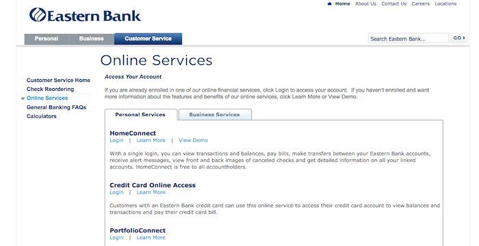 Eastern Bank Login Online Login