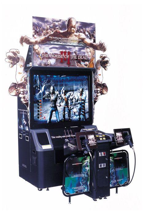 Sega House Of The Dead Iii Deluxe Arcade Machine Arcade Arcade