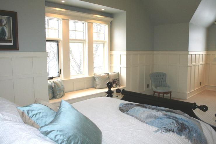 6 Stunning Bedroom Wainscoting Ideas: boys bedroom  Home Design by Azomic