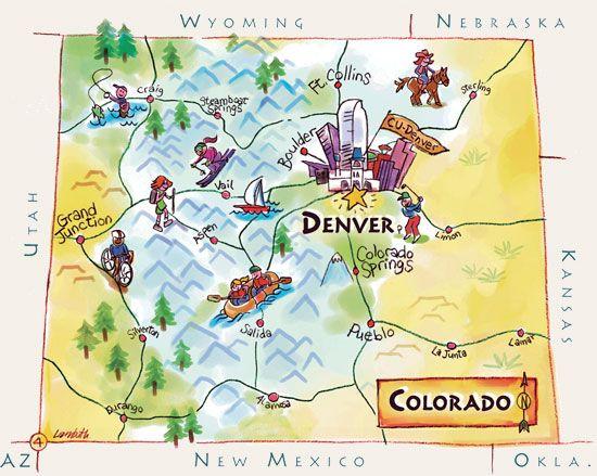 20 Fun Interesting Facts About Colorado Colorado Facts Colorado Map Fun Facts