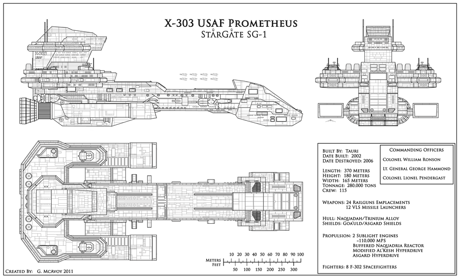 ship schematics destiny