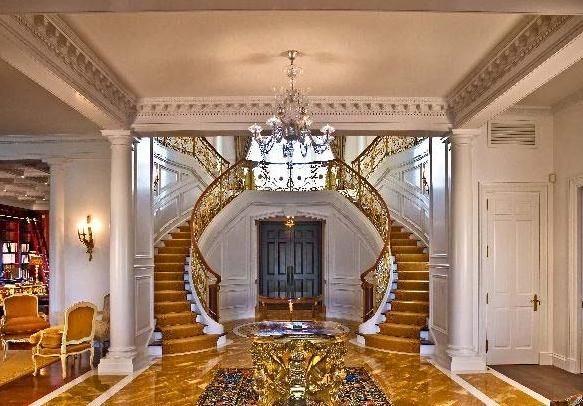 Gold Staircase