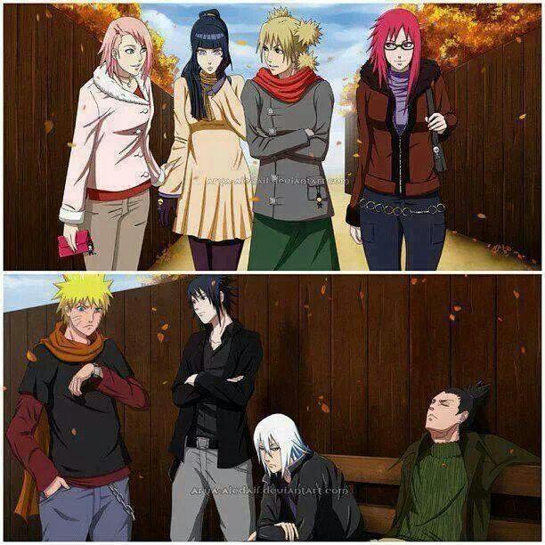 Naruto Dating Hinata parte