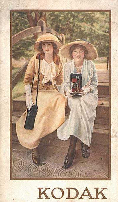 Vintage French Kodak Film Advertisement  Poster  A3 Print