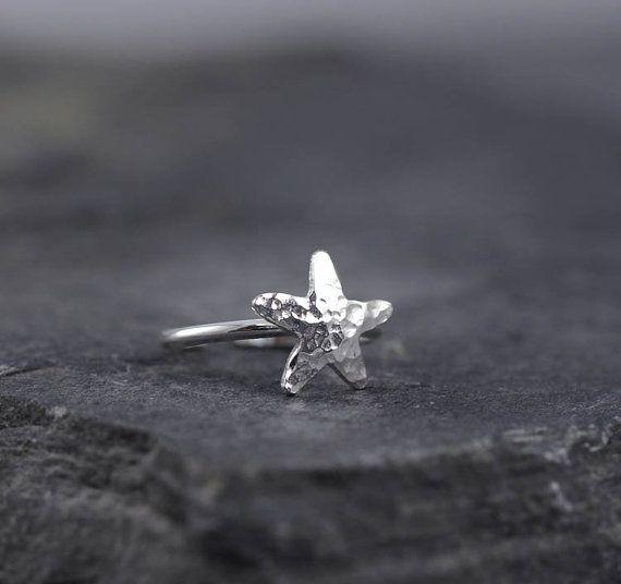 Starfish toe ring Toe rings Gifts under 25 Beach by HapaGirls, $22.00