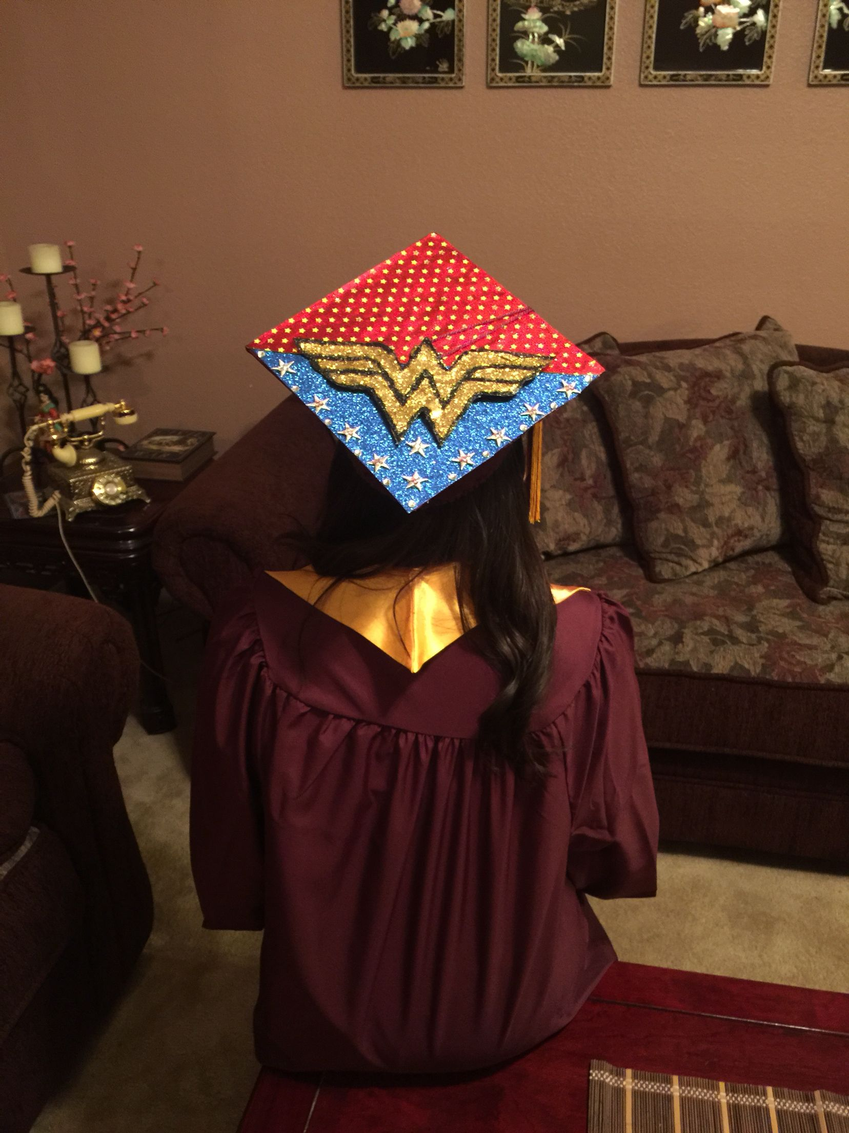 18 Femme Fatale-Themed Grad Caps for 2018 | Her Campus