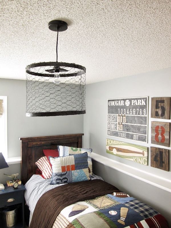 15 Inspiring Bedroom Ideas for Boys | Chicken wire, Bedrooms and Room