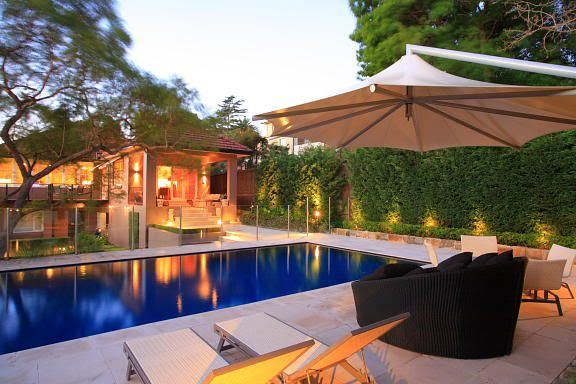 Backyard Pools | Pool Landscape Lighting Design Advice