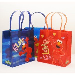 Amazon Elmo Party Favor Goodie Small Gift Bags 12 Toys Games