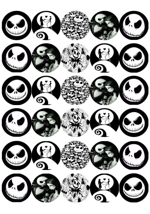 Nightmare Before Christmas Baby Shower Cupcake Toppers : nightmare, before, christmas, shower, cupcake, toppers, Http://www.ebay.com.au/itm/30-x-Nightmare-Before-Christmas-Mini-Cupcake-Edible-Wafer…, Halloween, Shower,, Cupcake, Toppers, Printable,, Nightmare, Before, Christmas