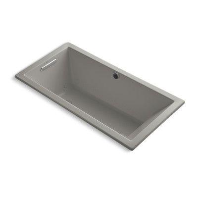 """Kohler Underscore Bubblemassage 60"""" x 30"""" Soaking Bathtub Finish:"""