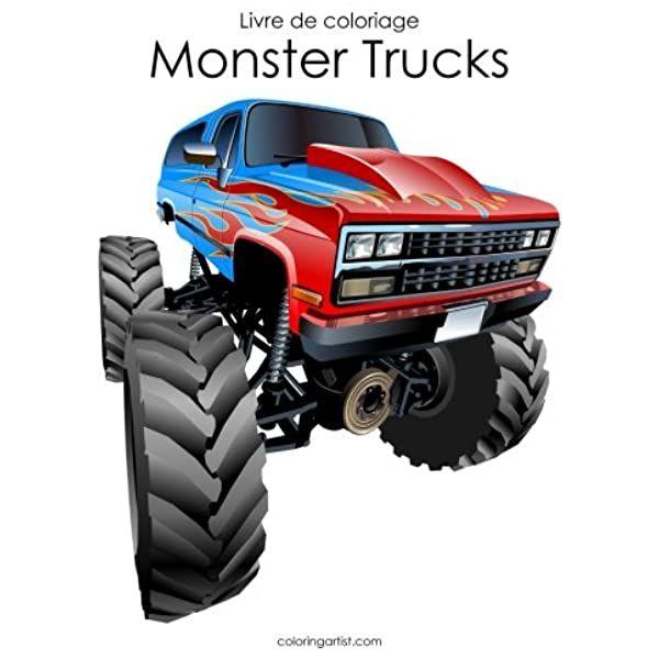 PDF Livre de coloriage Monster Trucks 2 Ebook nel 2020