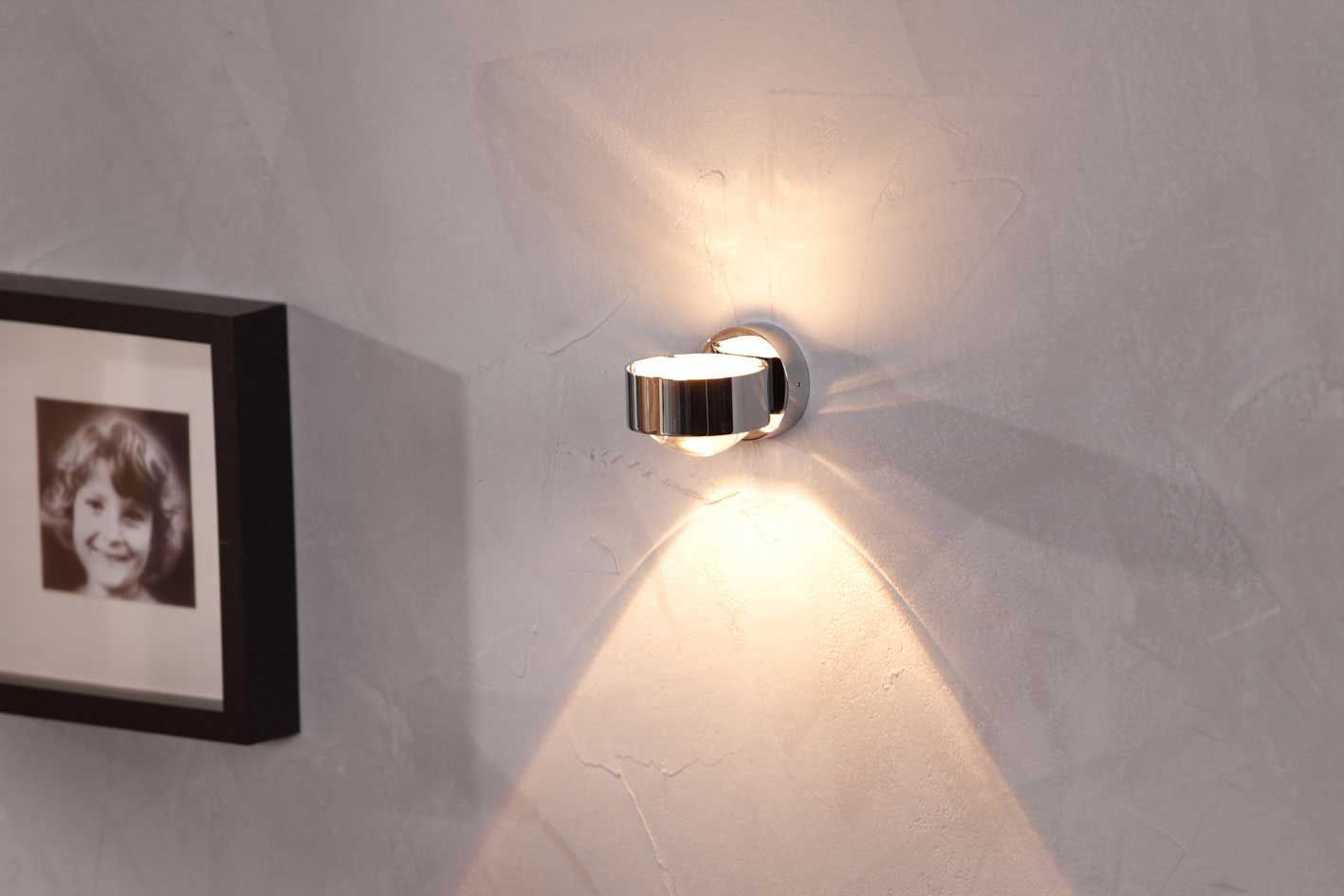Puk Wall Design Led Wandleuchte Von Top Light Wandleuchte Indirekte Beleuchtung Decke Beleuchtungsideen