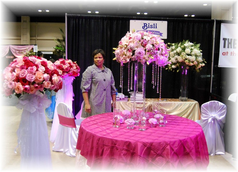 Quinceanera decorations flowers by bisli event services
