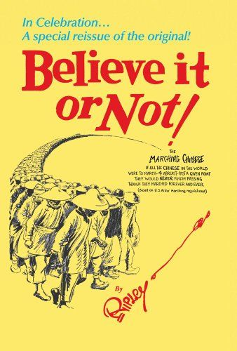it book or not pdf ripley believe
