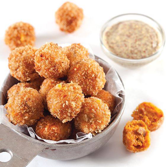 Recipe for Sweet Potato Cajun Fritters from Louisiana Cookin' Magazine! Shared…