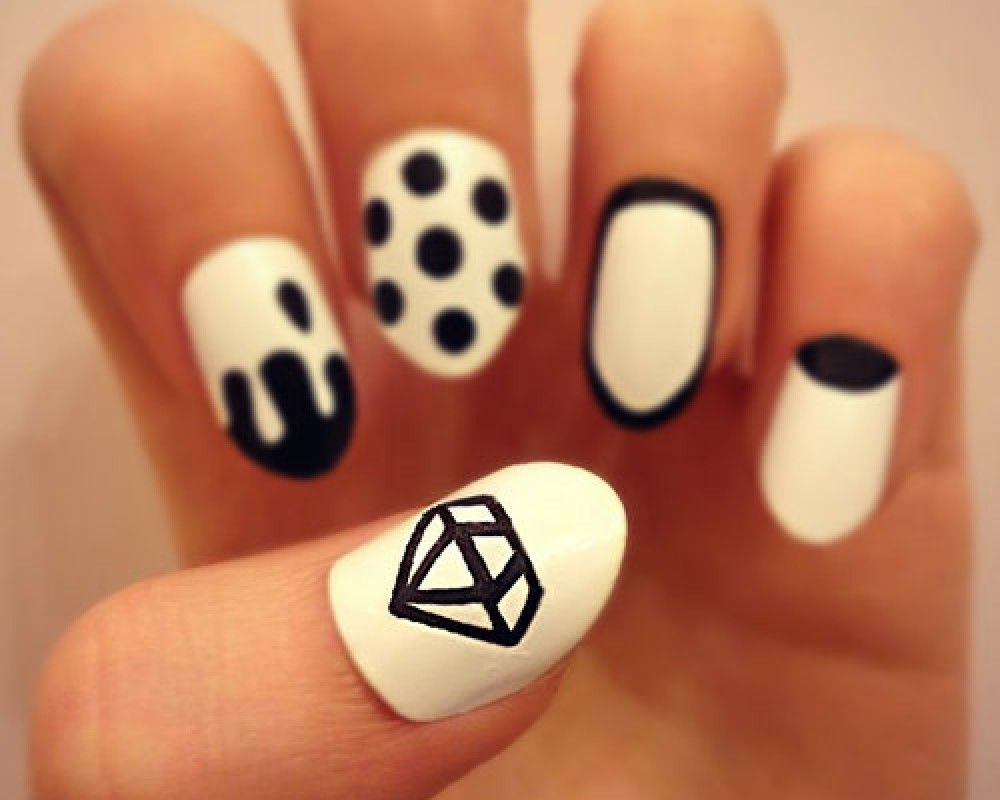 cute diamond nail designs | Diamond Nail Art | Nails And Toes ...