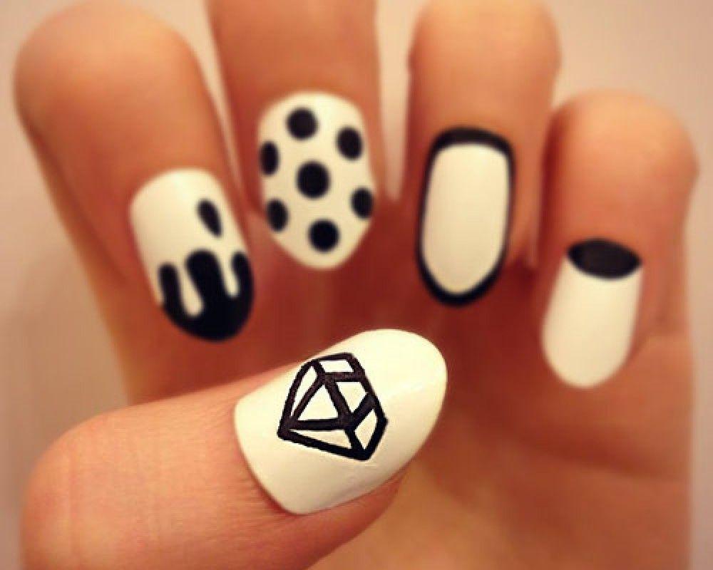 Cute diamond nail designs diamond nail art nail art cute diamond nail designs diamond nail art prinsesfo Images
