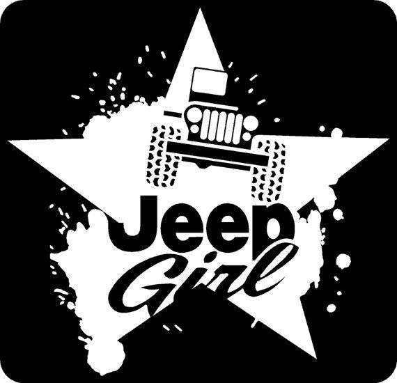 Jeep Girl Decals By 123graphics On Etsy